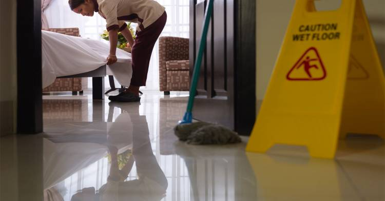 janitorial agency for resort and hotel