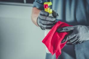 cleaning hazard