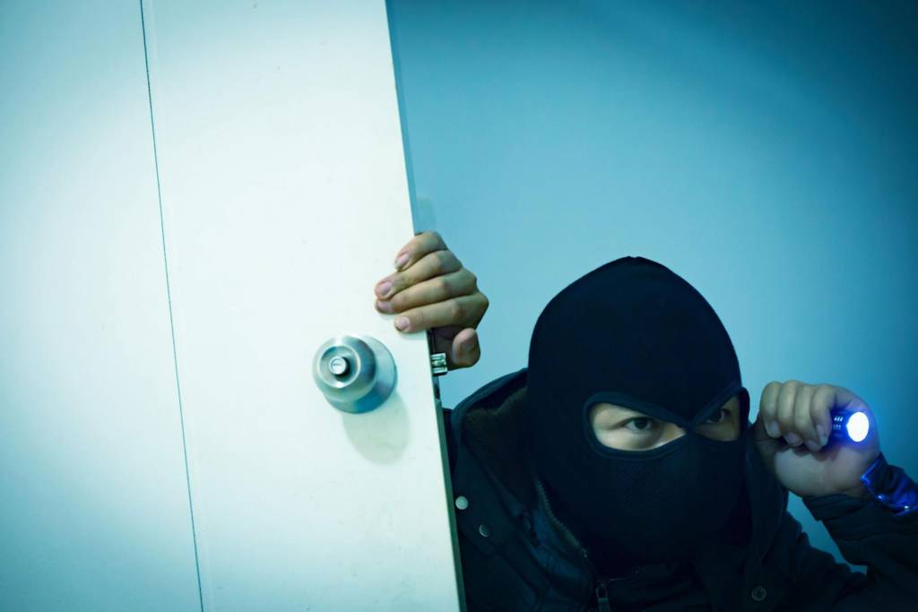 thief break in