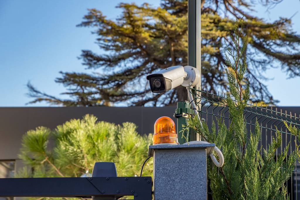 install surveillance cameras