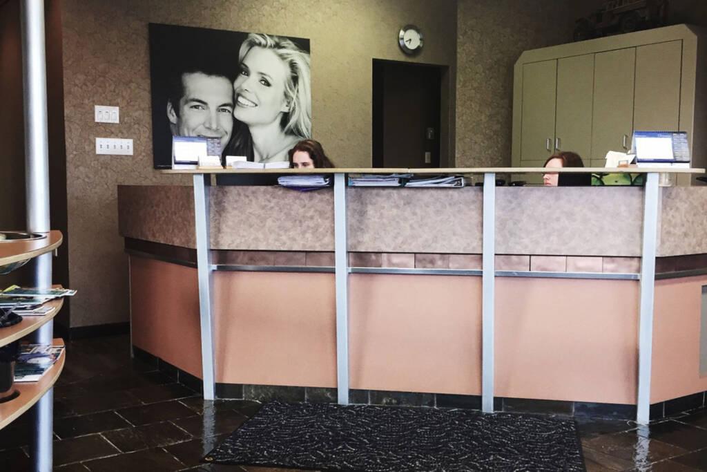cctv in reception area