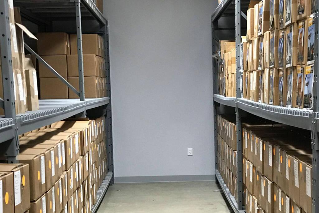 cctv in storage room